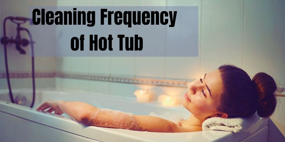 how to clean a hot tub
