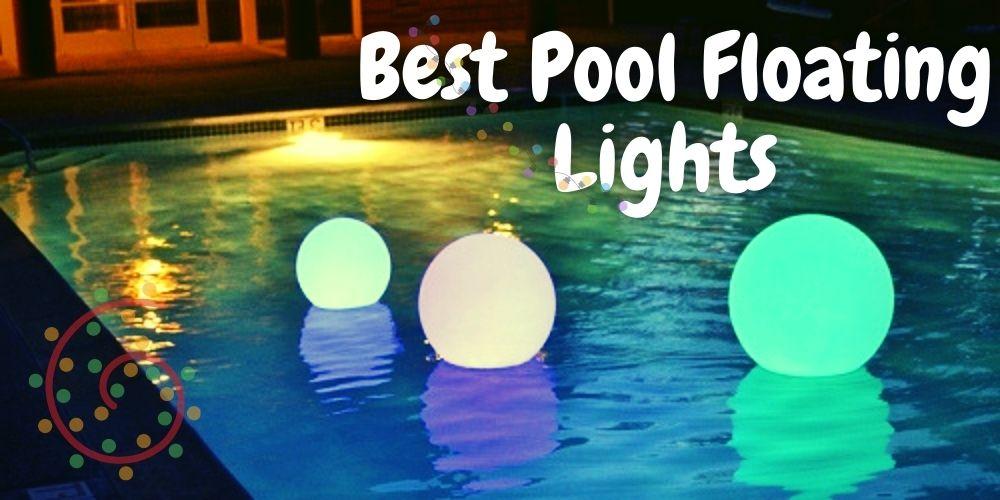 best pool floating lights reviews