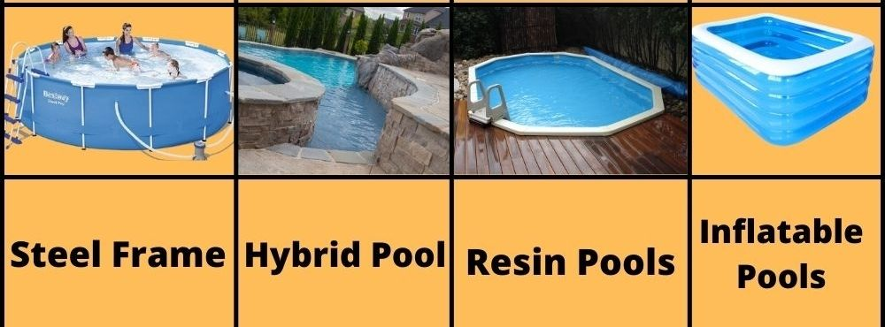 Type Of Pool Frames And For How Long They Last